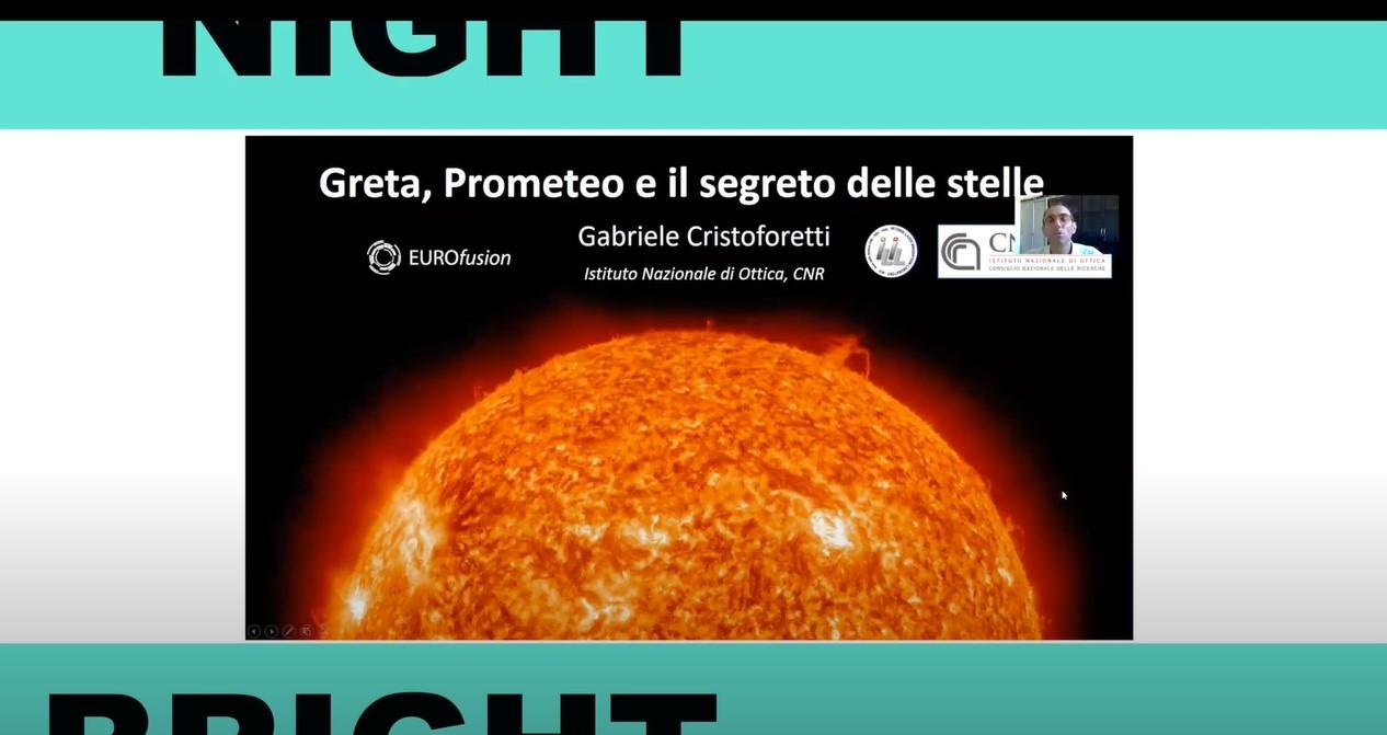 Greta, Prometeo e il segreto delle stelle