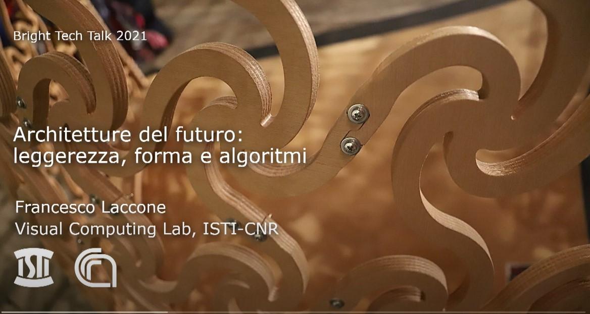 Architetture del futuro: leggerezza, forma e algoritmi