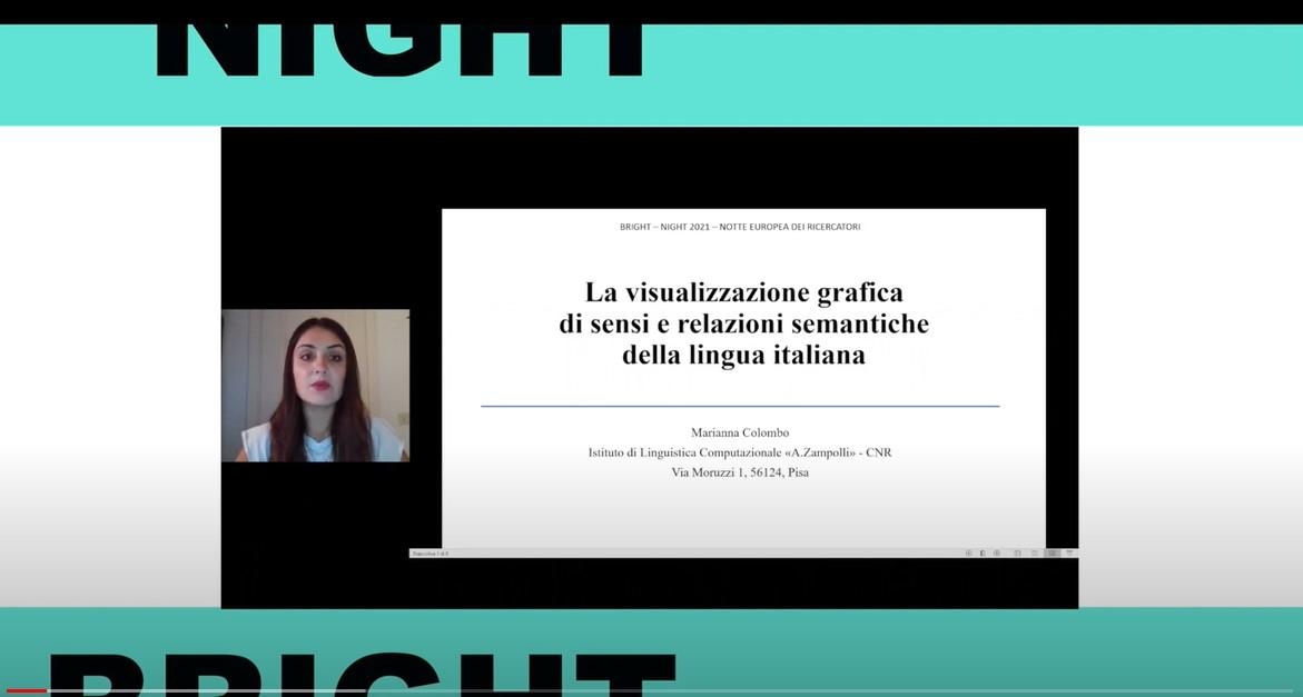 La Visualizzazione Grafica di Sensi e Relazioni Semantiche della Lingua Italiana